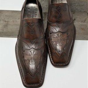 Mark Nason Lounge Leather Shoes U Rock Size 10